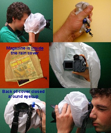 FotoSharp camera rain cover -- 12