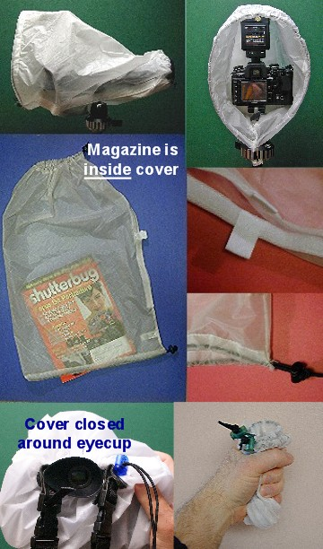 FotoSharp camera rain cover -- 20