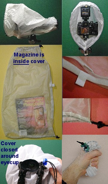 FotoSharp camera rain cover -- 25
