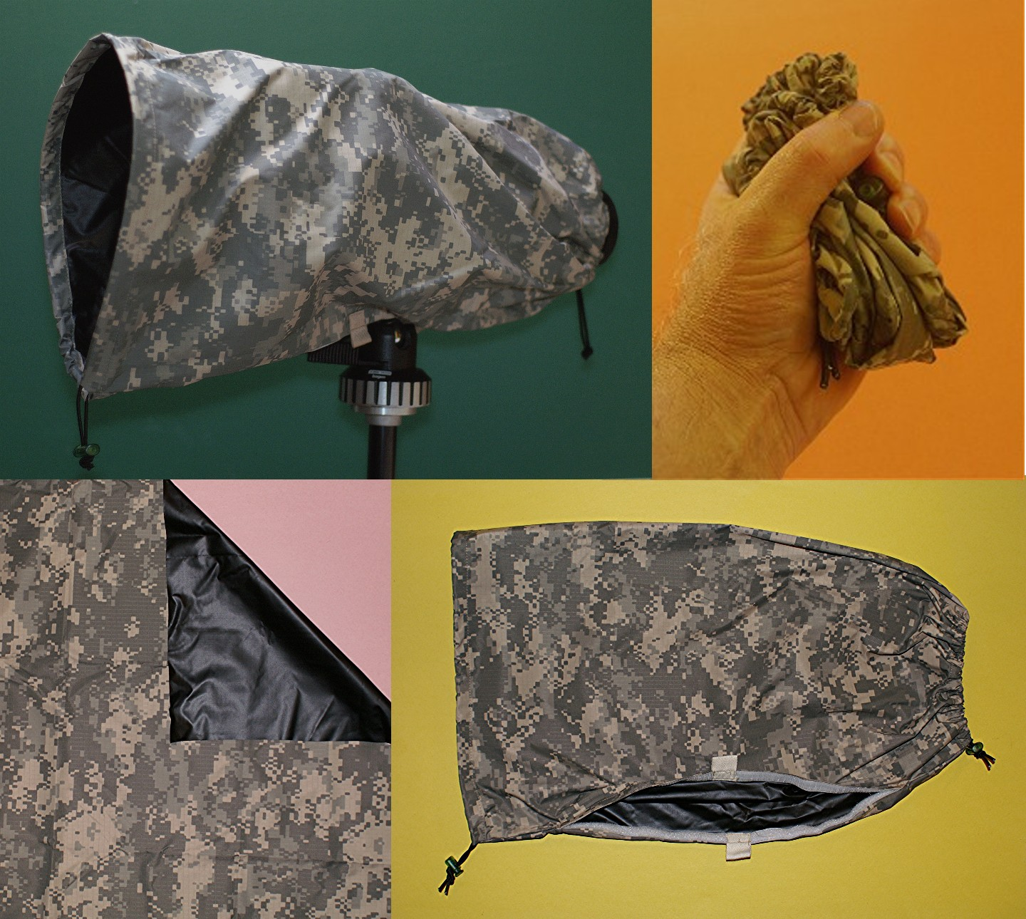 Hide & protect your camera with a camo cover!